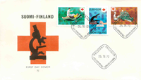 Finland FDC 1972 - LAPE nr. 706-708
