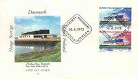 Finland Env.premier jour 1973 - LAPE no. 723-724
