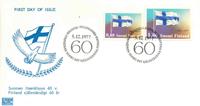 Finland FDC 1977 - LAPE nr. 818-819