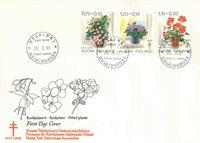 Finland FDC 1981 - LAPE nr. 883-885
