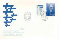 Finland Env.premier jour 1987 - LAPE no. 1026-1027