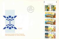 Finland FDC 1988 - LAPE nr. V10