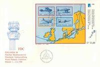 Finland Env.premier jour 1988 - LAPE no. Bl. 4