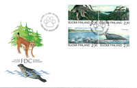 Finland FDC 1995 - LAPE nr. 1286-1289