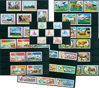 Agriculture - 44 different stamps - Mint