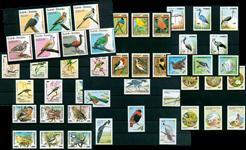 Oiseaux - Paquet de timbres thématiques neufs