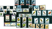Birds - 44 different stamps - Mint