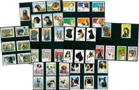 Honden - 48 verschillende postzegels - Postfris