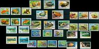 Poissons tropiques - Paquet de timbres thématiques  neufs