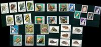 Mollusques - Paquet de timbres thématiques neufs