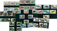 Reptiles - Paquet de timbres thématiques neufs