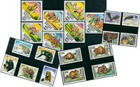 Animales salvajes - 20 sellos diferentes - Nuevo