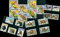 Animali selvatici - 20 francob. diff. - Nuovi
