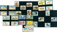 Animales salvajes - 32 sellos diferentes - Nuevo