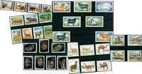 Animales salvajes - 35 sellos diferentes - Nuevo