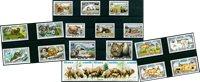 Animales salvajes - 21 sellos diferentes - Nuevo