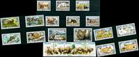 Animali selvatici - 21 francob. diff. - Nuovi