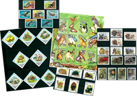 Animals - 44 different stamps - Mint