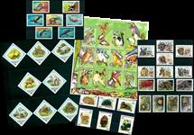 Animaux - Paquet de timbres thématiques neufs