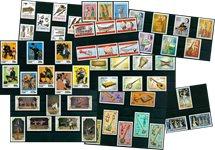 Musique/folklore - Paquet de timbres thématiques neufs