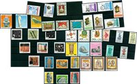 Art and handcraft - 42 different stamps - Mint