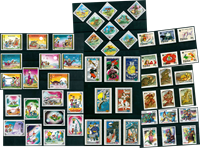 Fairy tales - 53 different stamps - Mint