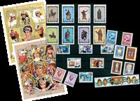 Historiallisia henkilöitä - 43 erilaista - postituoreena