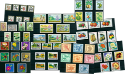 Planter og landskaber - Postfrisk motivpakke