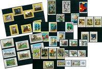 Tableaux - Paquet de timbres thématiques neufs