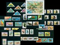 Vie préhistorique - Paquet de timbres thémati ques neufs