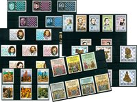 Chess - 40 different stamps - Mint
