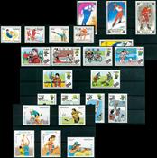 Sport - Paquet de timbres thématiques neufs