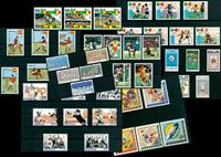Football/sport - Paquet de timbres thématiques neufs