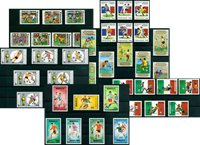 Football - Paquet de timbres thématiques neufs