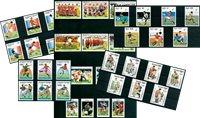 Foldbold VM - Postfrisk motivpakke