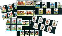 Football World Cup - 38 different stamps - Mint