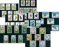 Deporte - 47 sellos diferentes - Nuevo