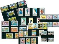 Deporte y Olimpiadas - 45 sellos diferentes - Nuevo