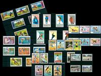 Sport et JO - Paquet de timbres thématiques neufs