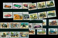 Automobili d'epoca - 30 francob. diff. - Nuovi