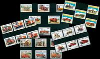 Brandbiler - Postfrisk motivpakke