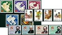 Gezondheid/Rode Kruis - 13 verschillende postzegels - Postfris