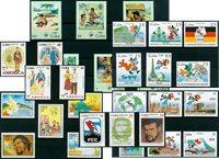 Cuba - 30 sellos diferentes - Festive events - Nuevo