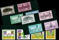 Guyane - Histoire - Paquet de timbres thématiques neufs