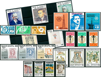 Mexico - 24 different stamps - Mint