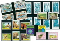 Events, nature & history - 24 different stamps - Mint