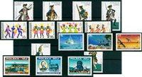 Industrie, uniformes, occasions - Paquet de timbres thématiques neufs