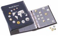 NUMIS coin album World Collection - 5 different NUMIS sheets - Lighthouse
