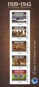 Frankrig - Anden verdenskrig - Postfrisk ark