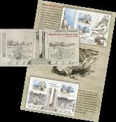 Frankrig - Slaget ved Vimy - Postfrisk miniark i folder